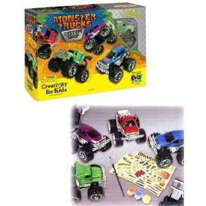 Creativity for Kids Monster Trucks Custom Shop: Toys & Games