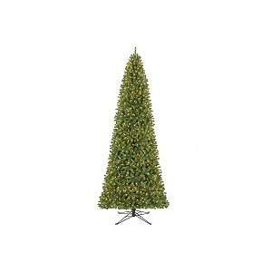 12 King Slim Prelit Christmas Tree