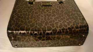 Kate Spade Wellesley Quinn Animal Patent Leather Handbag Tote NWT $375