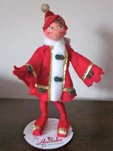 NEW ANNALEE CHRISTMAS 15 ELF BENDABLE COLLECTIBLE DOLL