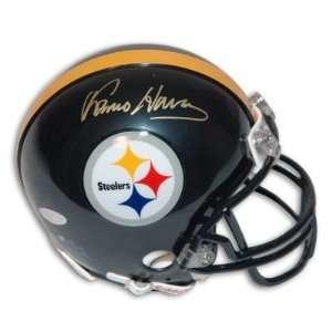 Franco Harris Autographed/Hand Signed Pittsburgh Steelers Mini Helmet