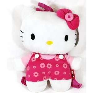 Hello Kitty Flowers Plush Backpack + Free Tote Bag Toys & Games
