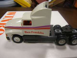 Winross Ben Franklin Craft Store tractor trailer