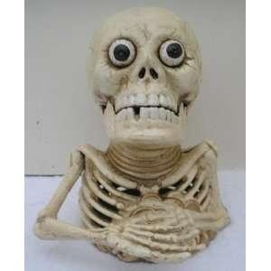 Cast Iron Mechanical Money Bank Skeleton Miser Everything