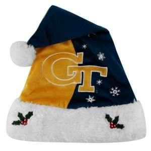 Georgia Tech Yellow Jackets 2011 Team Logo Santa Hat