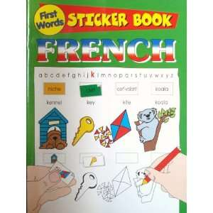 French First Words Sticker Book (First Words