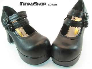 JAPANESE MARY JANE GOTHIC LOLITA SHOES JAPAN KERA EMO