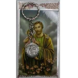 St. Joseph Keyring Prayer Card Set