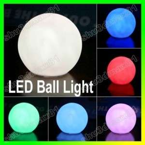 LED Multi Color Change ball Light night lamp Decoration