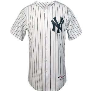 New York Yankees Home Pinstripe Authentic MLB Jersey