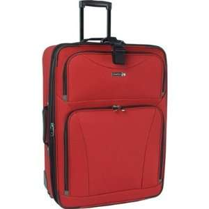 Travel Gear Galaxy 4 Piece Luggage Set 1102P0 Color Red