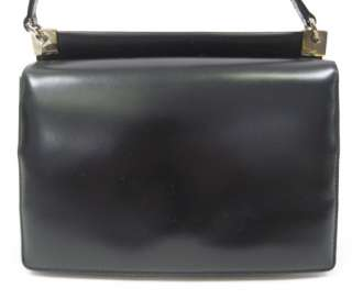 ... SALVATORE FERRAGAMO Black Leather Mini Handbag Tote ... a07b7806a5877