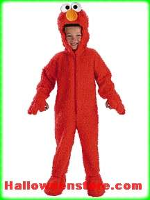 Adorable Deluxe Licensed Sesame Street Elmo costume  Includes Plush