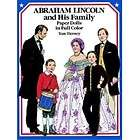 Abraham Lincoln and His Family Paper Dolls (Dover)