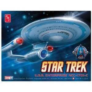 2500 Star Trek USS Enterprise NCC1701C (Snap Kit) (: Toys & Games