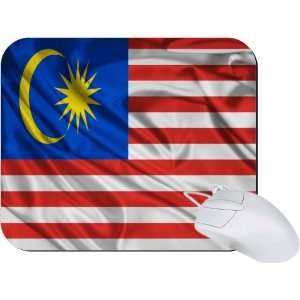 Rikki Knight Malaysia Flag Mouse Pad Mousepad   Ideal Gift
