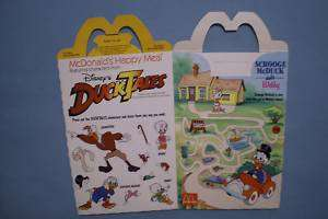 McDonalds 1988 Duck Tales Happy Meal Box