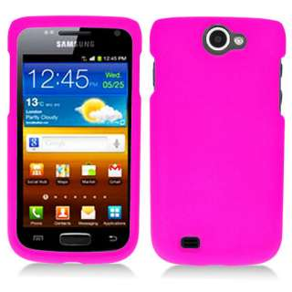 Exhibit 2 II 4G T679 T Mobile Pink Rubberized Hard Case Cover +Screen