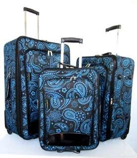 Piece Luggage Set Travel Bag Rolling Case Wheel Upright