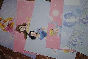 50pc DISNEY Princess Paper Bag Album Kit 6x6