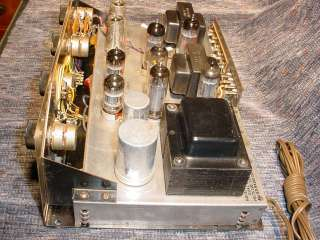 Knight 724A 724 A Stereo EL84/6BQ5 Tube Int Amplifier
