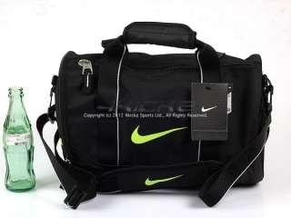 Male) Team Training Small Duffle Gym Bag Black/Green BZ9308 071