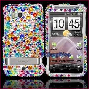Bling Diamond Colorful Full Hard Case Cover For HTC Thunderbolt 4G