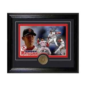 Highland Mint Boston Red Sox Daisuke Matsuzaka Framed with