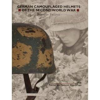 German Camouflaged Helmets Of The Second World War Painted And
