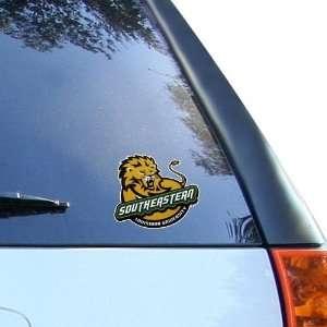 Southeastern Louisiana Lions 4 x 4 Team Logo Car Decal