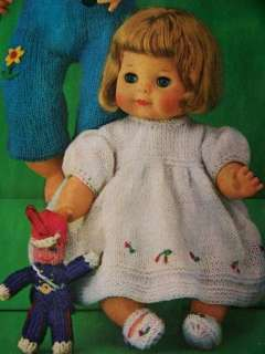Barbie Fashion & Baby Doll Clothes Outfits Knit Crochet Sew Patterns