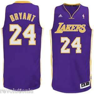 adidas Revolution 30 Swingman Jersey Purple Los Angeles Lakers