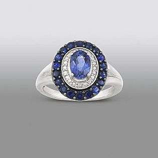 Diamond Accent Oval Ring 10  Pretty in Pave™ Jewelry Gemstones Rings
