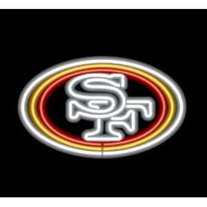San Francisco 49ers Team Logo Neon Sign: Sports