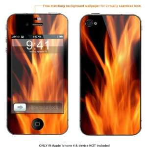Skin Sticker for AT&T & Verizon Apple Iphone 4 case cover iphone4 376