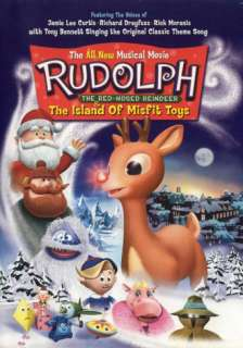 Rudolph the Red Nosed Reindeer & the Island of Misfit Toys Masterprint