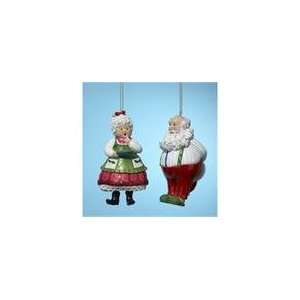 Club Pack of 12 Mr. and Mrs. Santa Claus Christmas