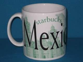 STARBUCKS COFFEE City Mug MEXICO CITY 2007
