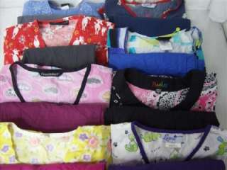 Medical Dental Vet Scrubs Lot 8 PRINTED Outfits Sets Sz XS EXTRA SMALL