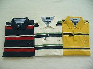 NWT Tommy Hilfiger Mens Short Sleeve Polo Shirt Golf XS , S ,M ,L ,XL