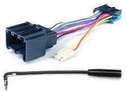 Chevy Wiring adapter. Newer DELCO radio to 80s. Camaro+