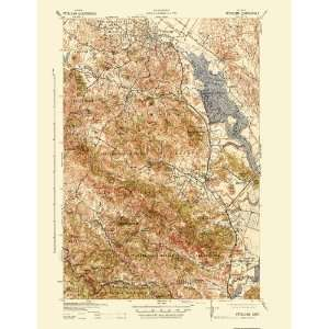 USGS TOPO MAP PETALUMA QUAD CALIFORNIA (CA) 1942 Home
