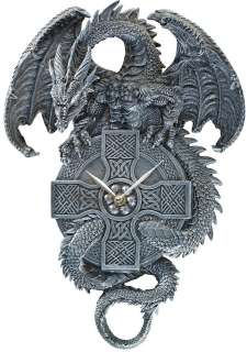 Medieval Celtic Dragon Decorative Wall Clock