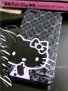Hello Kitty iPhone 4 Soft TPU Protective Case Cover from FitsPod Japan
