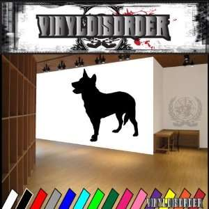 Dogs hearding australian cattle dog Vinyl Decal Wall Art