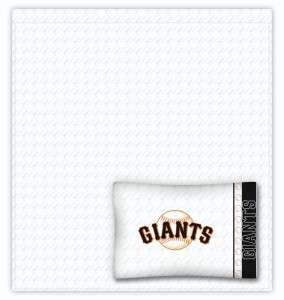 SAN FRANCISCO GIANTS 5 pc FULL Bed in a Bag w/comforter