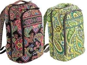 Bradley Symphony in Hue & Lemon Parfait Laptop Backpack Large Bag NWT