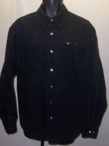 Mens Skull and flames HARLEY DAVIDSON Snap Button Front L/S Shirt L
