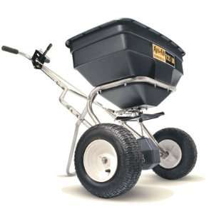 Stainless Steel Commercial Push Spreader Patio, Lawn & Garden