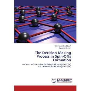 The Decision Making Process in Spin Offs Formation A Case
